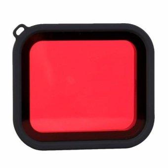 OEM Hero Red Dive Filter for Gopro Hero5 Standard WaterproofHousing Case - 2