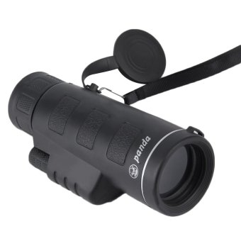 OH Day & Night Vision 40X60 HD Optical Monocular Hunting Camping Hiking Telescope Black