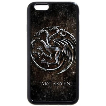 Onelee - Customized Personalized Black Soft Rubber(TPU) iPhone 6+Plus 5.5 Case, Game of Thrones winter is coming iPhone 6 Plus case,Only fit iPhone 6+ (5.5 Inch) - intl Price Philippines