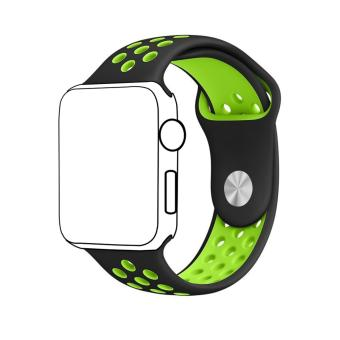 Ontube For Apple Watch Band Nike+ Series 1 Series 2, Soft SiliconeSport Bracelet Replacement Strap for iwatch band M/L Size 42mm -intl
