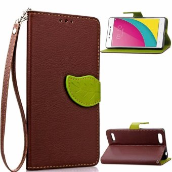 Oppo A33/a33m/oppoa57 flip all-inclusive protective leather cover phone case