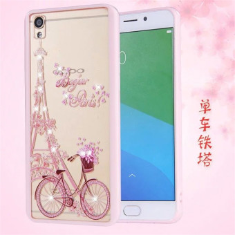 Oppo F1 painted dustproof plug soft cover mobile phone protective shell