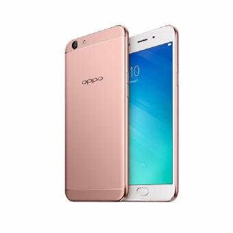 Oppo F1s Upgrade 64GB Rose Gold with free Powerbank