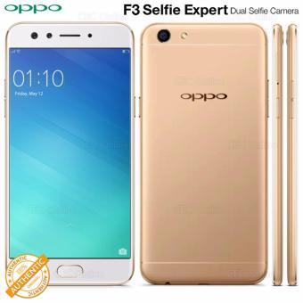 OPPO F3 64GB Dual Selfie Camera 4G LTE 3200mAh (Gold)