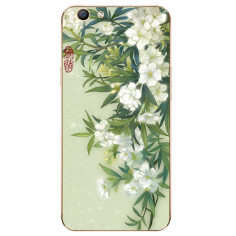 Oppo F3 soft all-inclusive sets tulip phone case