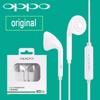 OPPO Headset Earphone In-ear 3.5mm with Remote and Mic for Oppo A37/R1c