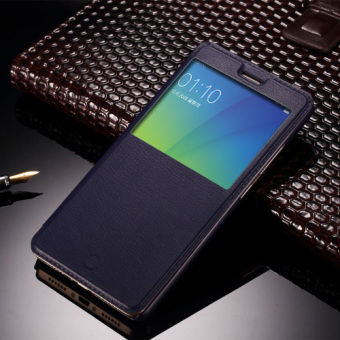 Oppo oppoa37/a37m/a37 flip-style leather cover phone case