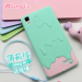 Oppo R7 cartoon soft silicone protective case phone case