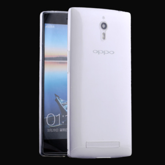 Oppo x9007/find7/x9077 silicone transparent thin protective case phone case