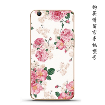 Oppoa59/33f1s Japan and South Korea silicone rose soft case phone case