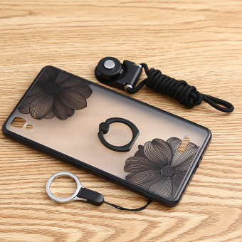 Oppor7 with Ring Support lanyard protective case phone case