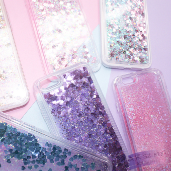 Oppor7/oppor7s/r7plus sequin liquid mobile soft case phone case
