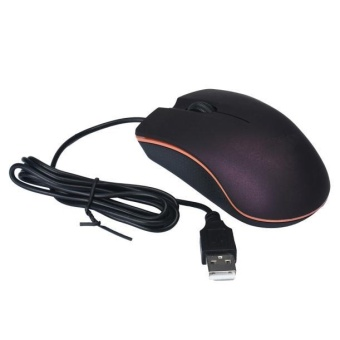 Optical USB LED Wired Game Mouse Mice For PC Laptop Computer PP -intl