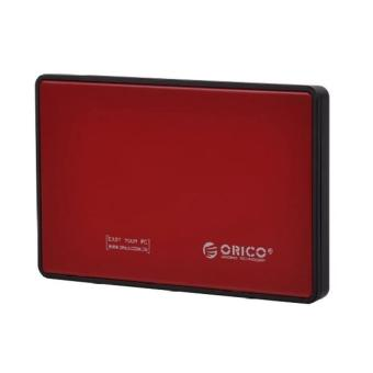 Orico 2588US3 SATA 2.5in USB3.0 Tool Free External HDD EnclosureRed