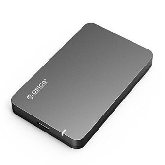 ORICO Tool Free 2.5inch SATA 3 to USB 3.0 Hard Drive SSD ExternalEnclosure Support UASP - Black
