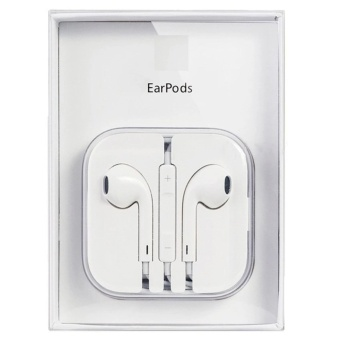 Original Apple Earpods With Volume Controller And Mic (White) WithFree Vivo In-Ear Wired Headset Earphone (White)