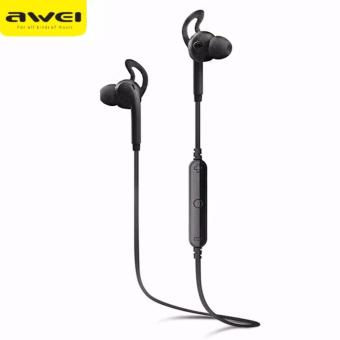 Original AWEI A610BL Wireless Sports Earphone (Black)