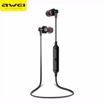 Original AWEI A990BL Wireless Sports Earphones (Black) Price Philippines