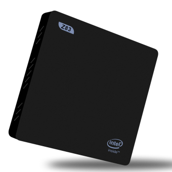 Original Beelink Z83 Windows 10 Mini PC Intel Atom x5-Z8300 64 bit2G/32G 4K XBMC TV Box 1000M LAN 2.4G/5.0G WiFi H.265 Bluetooth 4.0HD Media Player EU Plug - 2