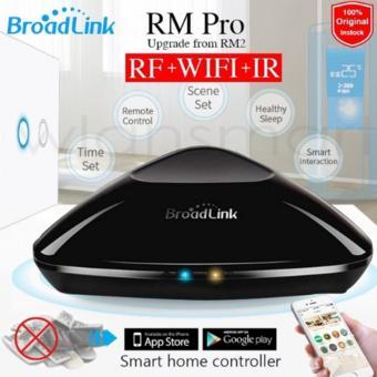 Original Broadlink RM2 RM PRO Universal Intelligent Remote Controller Smart Home Automation WIFI+ IR+ RF Switch Via IOS Android EU Plug - intl - 3