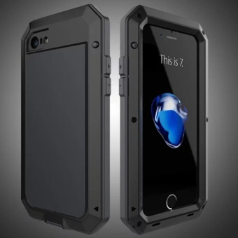 Original Fifth Generation Gorilla Tempered Glass Waterproof Shockproof Aluminum Armor Case Cover For Iphone 7 8