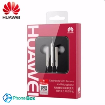Original Huawei Earphone AM116 In-ear Headset with Microphone 3.5mmEarbuds for PC Huawei P8 Lite P7 Android Phones Price Philippines