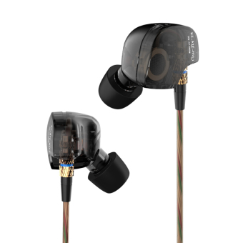 Original KZ ATE Sports Headphones Noise Cancelling In-Ear HeadsetBass HIFI Music Earphones for Iphone 6 Mobile Phone MP3 ComputerWithout Mic - intl - 4