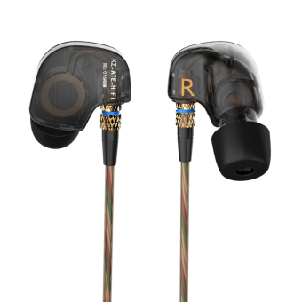 Original KZ ATE Sports Headphones Noise Cancelling In-Ear HeadsetBass HIFI Music Earphones for Iphone 6 Mobile Phone MP3 ComputerWithout Mic - intl - 2