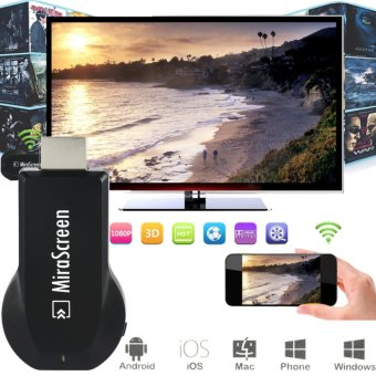 Original wecast DLNA airplay dongle Wireless Display Receiver wecast HDMI 1.3 HD output Free Wifi Receiver freewifi Projector - intl Price Philippines