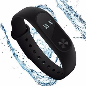 Original Xiaomi Mi Band 2 Heart Rate Monitor Smart Wristband With OLED Display - BLACK