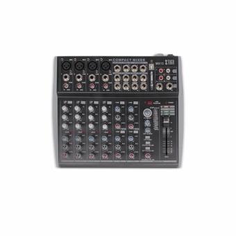 Original Xtuga MX12Channels 3-Band EQ Audio Music Mixer MixingConsole with USB XLR LINE Input 48V Phantom Power for Recording DJStage Karaoke - intl - 5