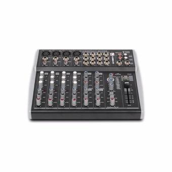 Original Xtuga MX12Channels 3-Band EQ Audio Music Mixer MixingConsole with USB XLR LINE Input 48V Phantom Power for Recording DJStage Karaoke - intl - 3