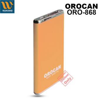 Orocan Smart Power Bank With Flashlight 20000mAh (Gold) - 3