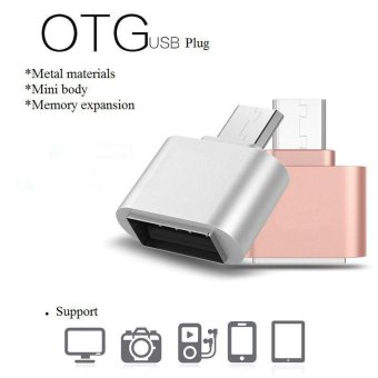 OTG Hug 2.0 Converter OTG Adapter Micro USB to USB Hub for Mini Android Gadget Phone Samsung Cable Card Reader Flash Drive OTG - intl