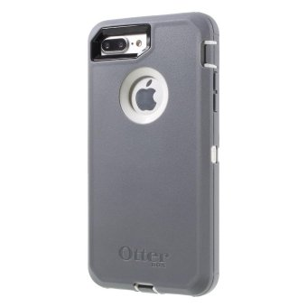OTTERBOX Defender Rugged Case Accessory for iPhone 7 Plus 5.5 - White / Grey - intl