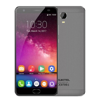 "OUKITEL K6000 Plus 5.5"" Octa-core 4G Phone w/ 4GB RAM 64GB ROM -Gray - intl Price Philippines"