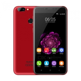 "OUKITEL U20 PLUS 5.5"" FHD IPS Android 6.0 4G Phone w/ 16GB ROM -Red - intl Price Philippines"