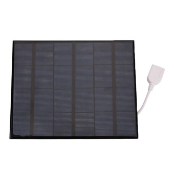 Outdoor USB Solar Power Panel Charger 6V 3.6W For Android MobilePhone - intl
