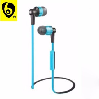 OVLENG ETT? S8 Shocking 2.0 Stereo Super Bass Bluetooth Earphone Music Treble Clear Hi-Fi Wireless Headphone with Microphone (Blue)