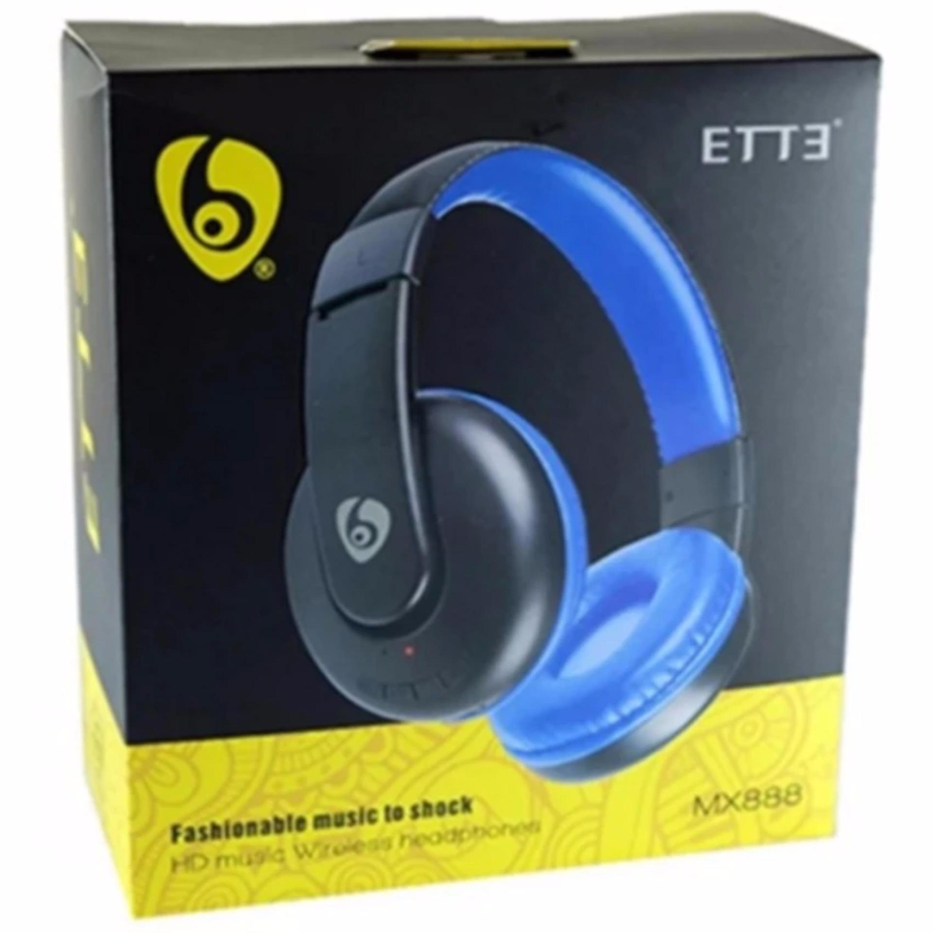 OVLENG ETTE MX888 Wireless Bluetooth Headphone Blue