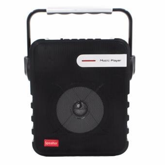 P-23 Digital Multimedia Wireless Portable Bluetooth Speaker with FM& TF Card Function (Black) - 3