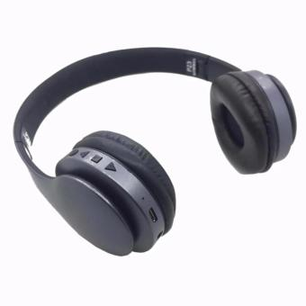 P23 Bluetooth wireless headphone computer headset with Microphone(black) - 3