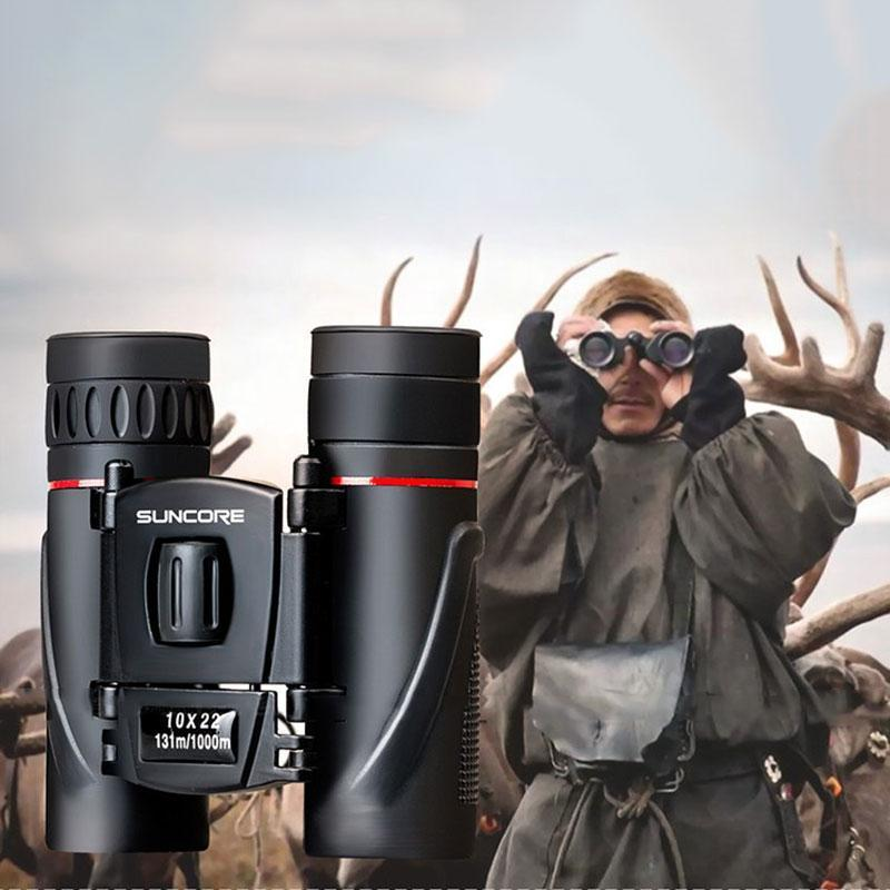 PAlight SUNCORE Military HD 10x22 Binoculars Professional Hunting Telescope Zoom Day Night Vision No Infrared Eyepiece - intl