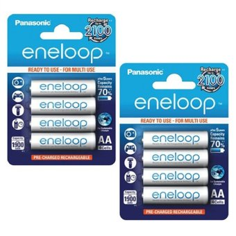Panasonic Eneloop Rechargeable 'AA' Battery Set of 2