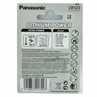 Panasonic Lithium Battery CR123A - picture 2