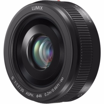 Panasonic Lumix G 20mm F1.7 II ASPH Lens - [Black] - intl
