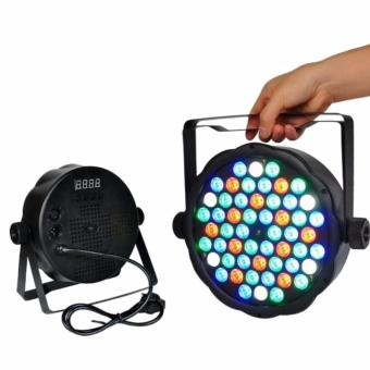 Par 54 LED Flat Stage Light RGB Par Light DMX512 Master Slave