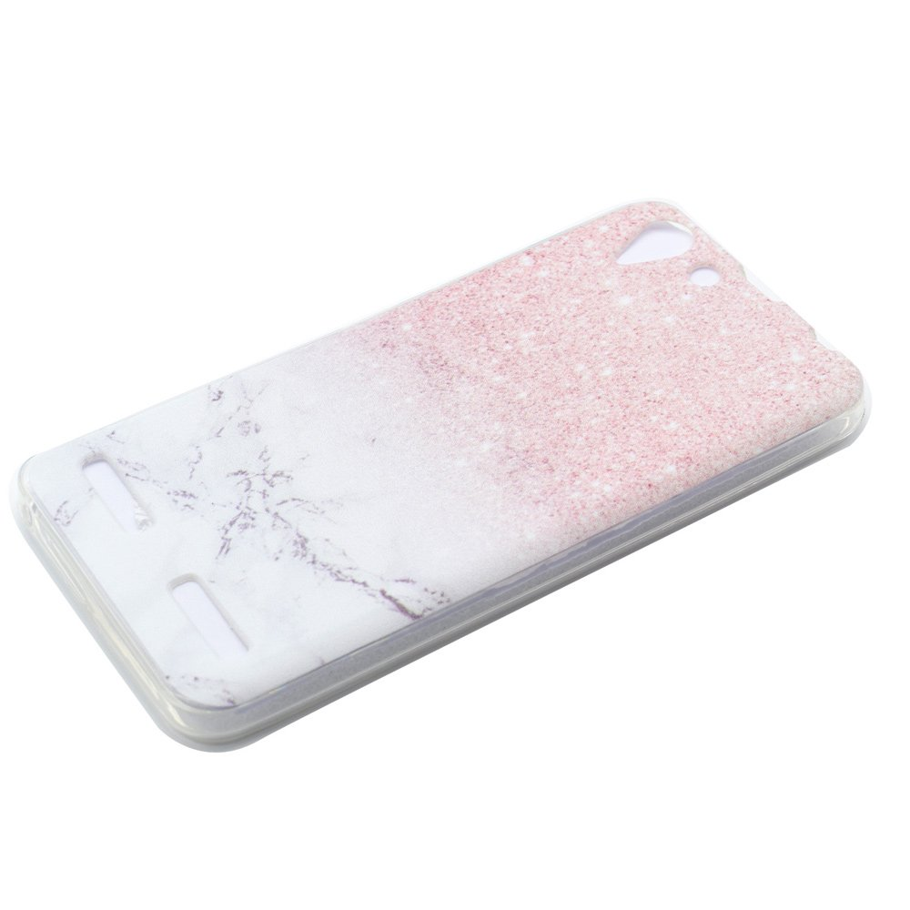 ... Patterned Soft Gel TPU Cover for Lenovo Vibe K5 / Vibe K5 Plus -Marble and ...