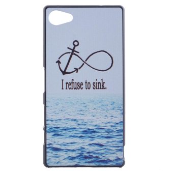 PC Phone Case Shell for Sony Xperia Z5 Compact - Anchor and Quote Price Philippines