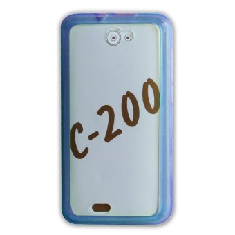 PC/TPU Back Case for CherryMobile C200 (Blue)